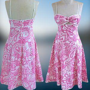Victoria's Secret Paisley cotton DRESS sz  6 small